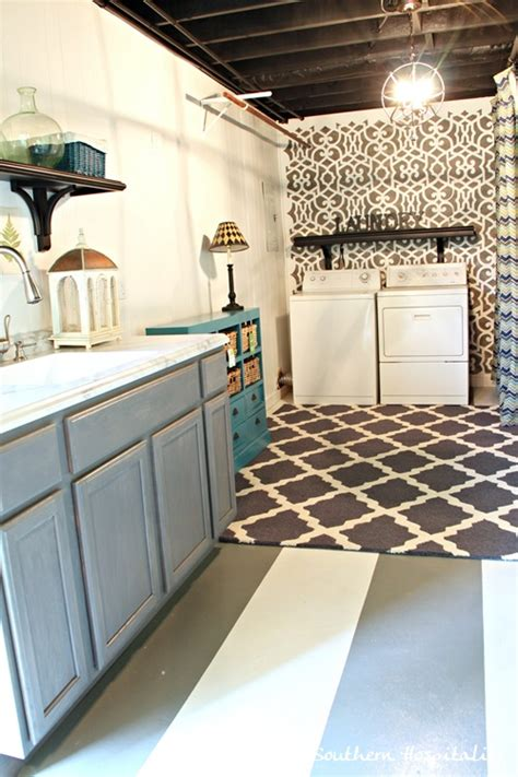 5 Ways to Redo a Basement Laundry Room   Infarrantly Creative