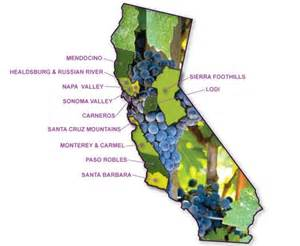 california wine country map favorite places and spaces