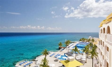 all inclusive cozumel palace vacation with airfare vacation express groupon