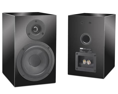 box design speaker box 5 gloss black passive bookshelf