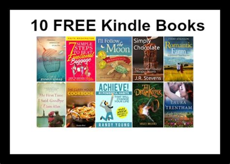 free books 10 free kindle books 7 18 deal