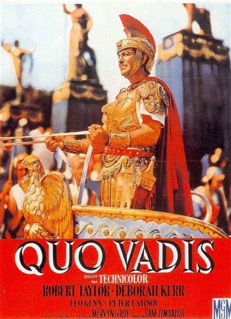 film streaming quo vadis quo vadis in dvd un film che ha fatto la storia non solo