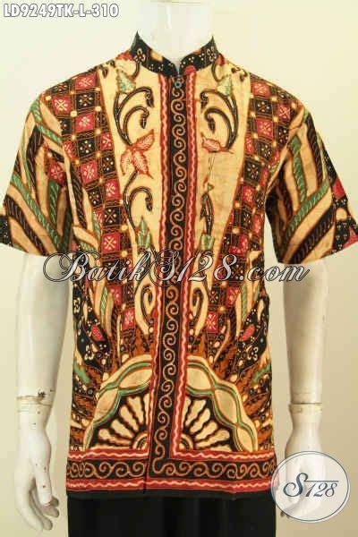 Hem Batik Shanghai sedia hem batik koko kerah shanghai baju batik muslim