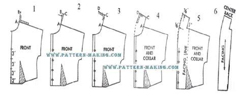 pattern making of blouse drafting shawl collar pattern making com