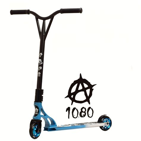 stunt scooter deck 1080 judge stunt scooter alloy custom deck 110mm wheels ebay