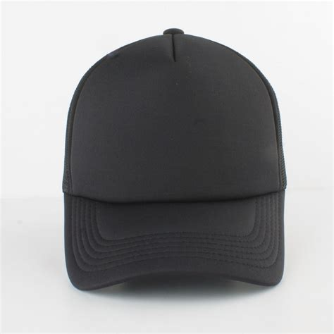 black hat black trucker hats tag hats