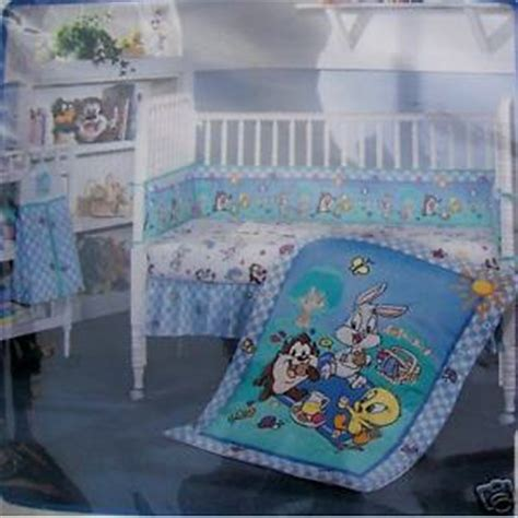 3 Piece Crib Bedding Set Baby Looney Tunes Blanket Crib Baby Looney Tunes Crib Bedding Set