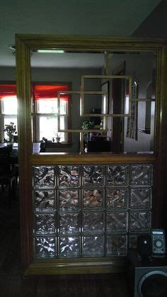 Glass Block Room Divider Home Ideas On 622 Pins