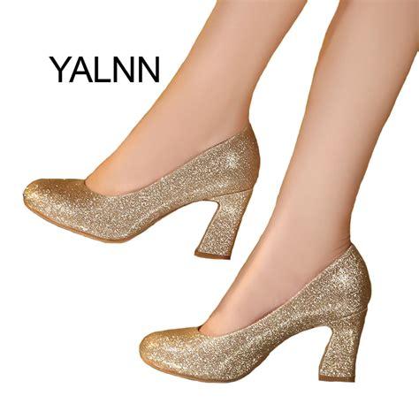 Cmr250 High Heels Gold 6 Cm aliexpress buy weeding gold high heel shoes 3cm new fashion high heels shoes