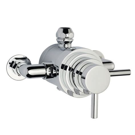 Thermostatic Shower Faucet by Modern Exposed Thermostatic Shower Faucet Dual