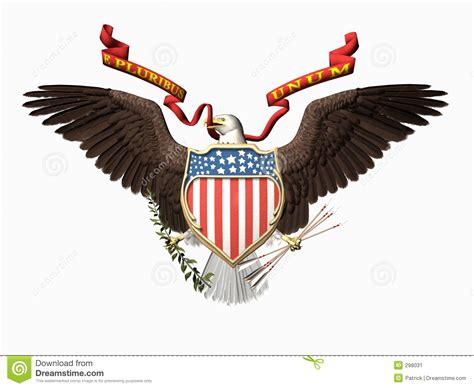 united states seal e pluribus unum stock image image