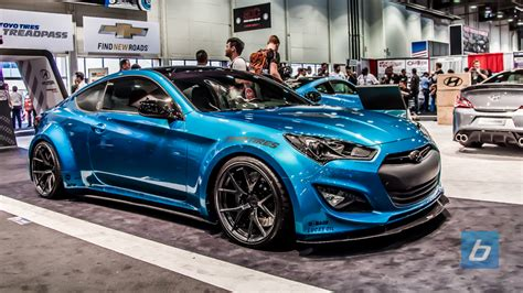 hyundai sema 2013 booth tour