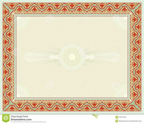 certificate design background certificate background stock vector image 54915430