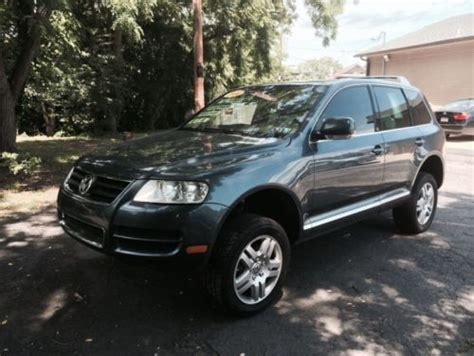 how to sell used cars 2004 volkswagen touareg parking system sell used vw touareg 2004 in wilkes barre pennsylvania united states for us 9 999 00