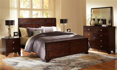 bedroom sets deals 5 piece bedroom furniture sets groupon