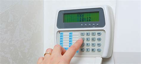 burglar alarms which
