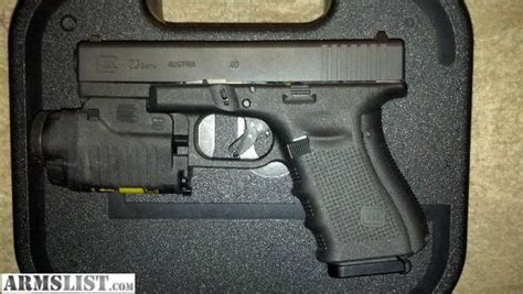 glock 22 laser light armslist for sale model 23 4 glock gtl22 light laser