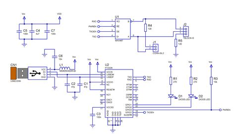 Converter Usb To Rs485 diode circuit schematic get free image about wiring diagram