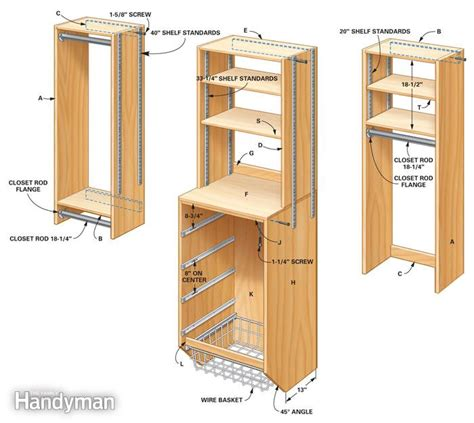 how to make closet organizer system storage how to your closet storage space the