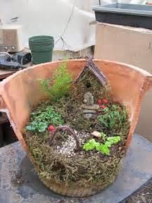 Fairy Garden Containers - kreativer minigarten 16 originelle baselideen aus alten blument 246 pfen