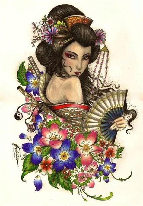 tattoo geisha y nghia mejores 203 im 225 genes de tatus en pinterest geishas