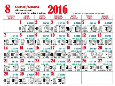 Calendario De Los Mayas Fronteras