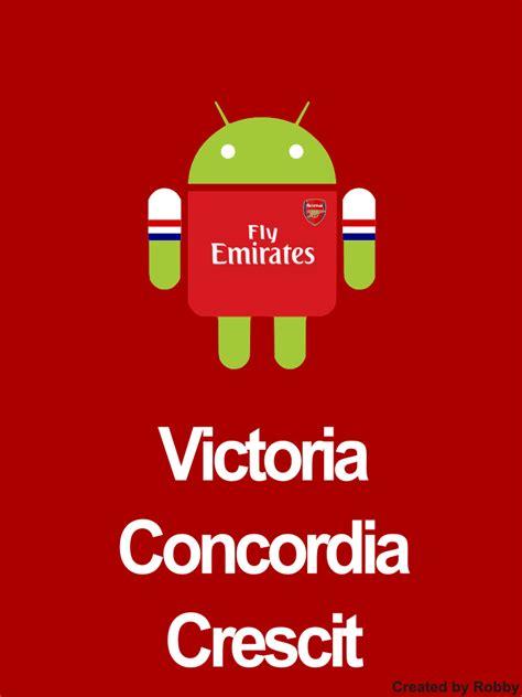arsenal motto victoria concordia crescit by muroba on deviantart