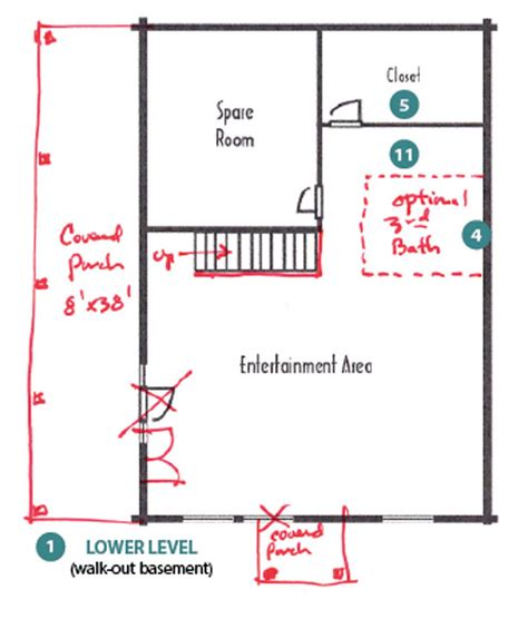 customized floor plans how to customize a cabin floor plan