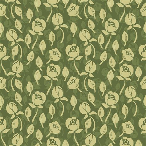seamless pattern flower 20 green floral patterns photoshop patterns freecreatives