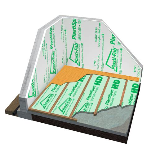 basement floor insulation plastispan hd basement floor insulation plasti fab