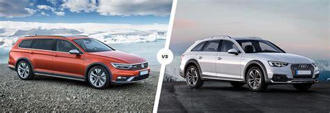 Alltrack Vs Allroad by Volkswagen Passat Alltrack Vs Audi A4 Allroad Carwow