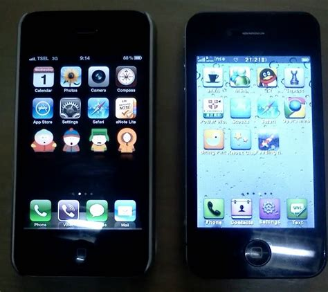 Hp Iphone 4 Yang Asli cara memberdakan iphone 4 palsu replika ipontianak