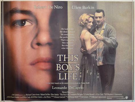boys life 2 this boy s life version 2 original cinema movie poster
