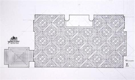 Drawing Floor Plan le calepinage parquet 224 panneaux d aremberg en noyer