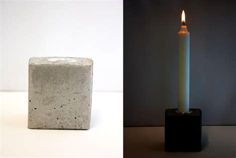beton häuser lav lysestager i beton