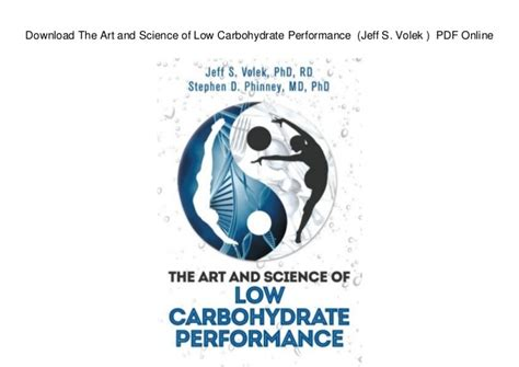 Pdf Science Low Carbohydrate Performance the and science of low carbohydrate