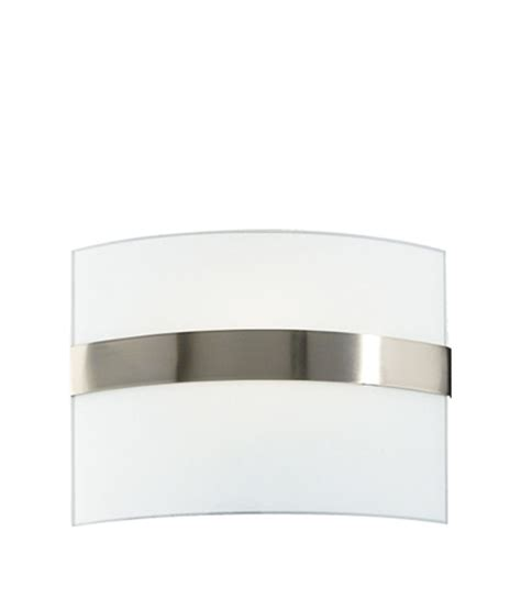 Trendy Wall Lights Philips White Glass Trendy Wall Light Buy Philips White
