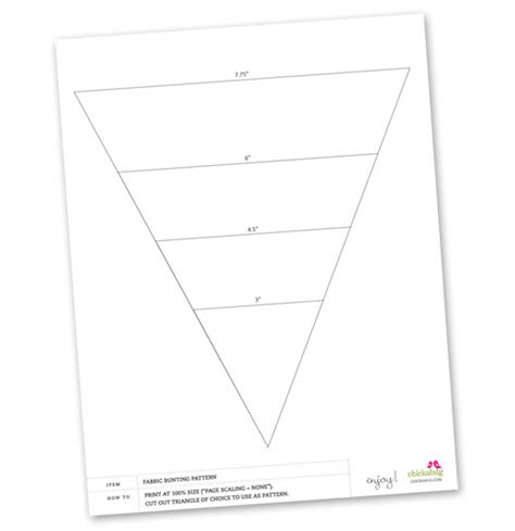 free printable bunting banner template bunting template on pinterest pennant banner template