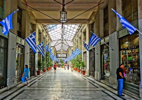 shopping  athens greece