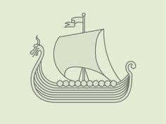 viking boats step by step learn how to draw a viking ship boats and ships step by