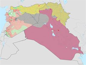 Iraq And Syria Map by Fascinating Maps Belie Claim Isis Also Targets Muslims