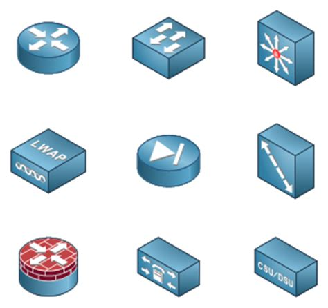 switch visio stencil visio network clipart 89