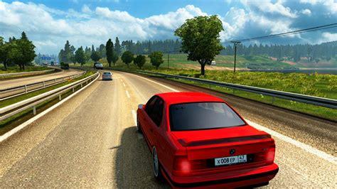 bmw e34 car interior v1 0 truck simulator 2 mods