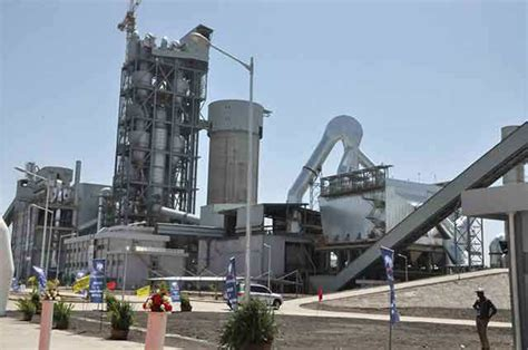 cement factory protesters torch dangote cement factory in ethiopia