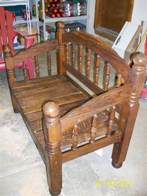 bed frame bench bed frame bench my upcycling projects pinterest bed