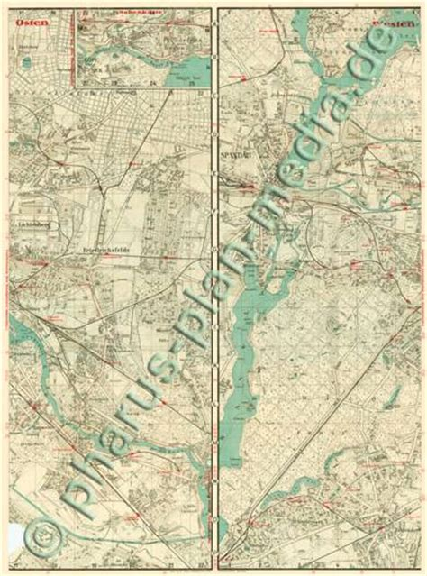 Gross Berlin by Pharus Pharus Historischer Stadtplan Berlin 1933 Gro 223