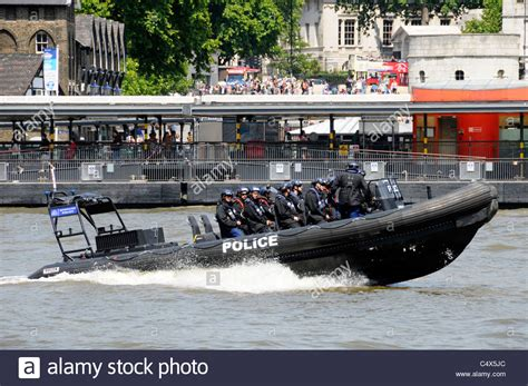 river thames inflatable boat metropolitan police high speed rigid inflatable boat and