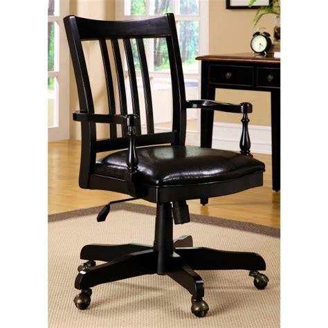 swivel desk chair with arms wooden swivel desk chair with arms photo 16 chair design