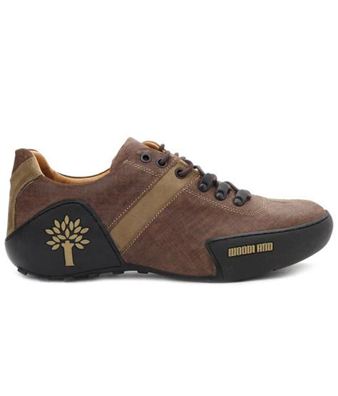 woodland robust brown casual shoes available at snapdeal