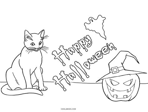 coloring page halloween cat halloween black cat coloring pages coloring book